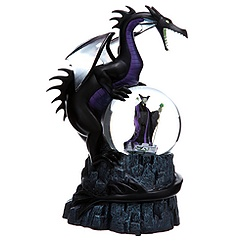 Deluxe Maleficent Snow Globe