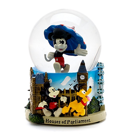 Mickey Mouse London Snow Globe