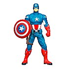Captain America Avengers Mighty Brawlers Shield Spinning 6\