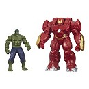 Marvel Avengers Age of Ultron 2.5'' Figures, Hulk and Hulk Buster