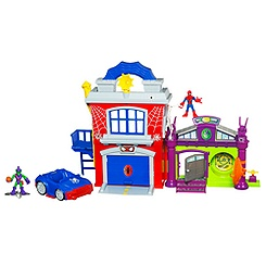 Marvel Superheroes Headquarters playset