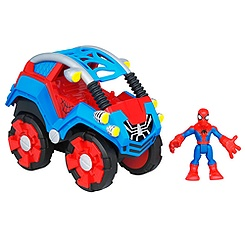 Spider-Man Flip-Out Stunt Buggy