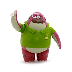 Monsters University Don Carlton Toy