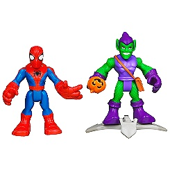 Spider-Man and Green Goblin Figure Set