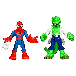 Spider-Man and Lizard Figure Set