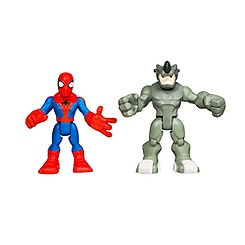 Spider-Man and Rhino Figure Set