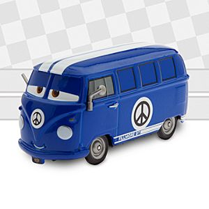 Disney Pixar Cars Custom Die-Cast from The Artist Series, Fillmore By Bob Pauley - Custom Gifts