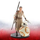 Star Wars 6'' Elite Series Die-Cast Figures, Rey and BB-8