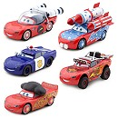 Disney Pixar Cars McQueen-O-Rama Die-Casts, Set of 5