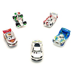 Disney Pixar Cars Set of 5 Silver Die-Casts