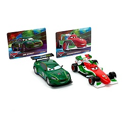 Disney Pixar Cars Francesco Bernoulli & Nigel Gearsley Die-Cast Set