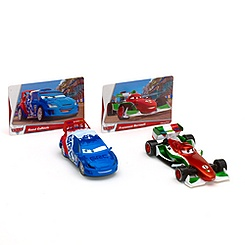 World of Cars Collection Francesco Bernoulli & Raoul CaRoule Die-Cast Set