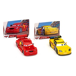 World of Cars Collection Long Ge & Jeff Gorvette Die-Cast Set