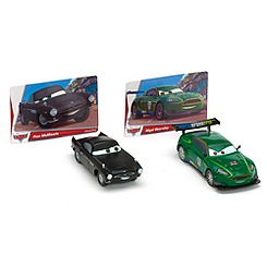 World of Cars Collection Finn McMissile & Nigel Gearsley Die-Cast Set