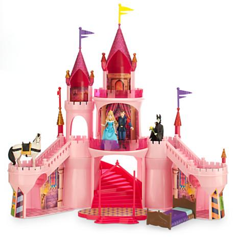 Sleeping Beauty Deluxe Castle Playset Dolls Disney Store