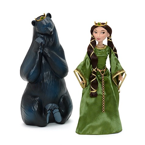 Brave Queen Elinor Doll With Transformation Accessory