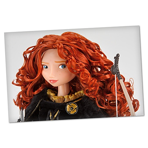 Limited Edition Brave Merida Doll