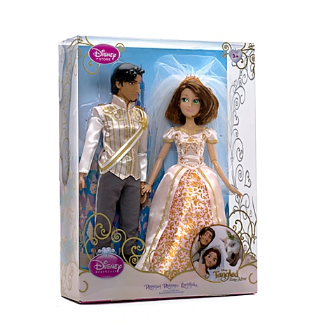 Rapunzel & Flynn Wedding Doll Set