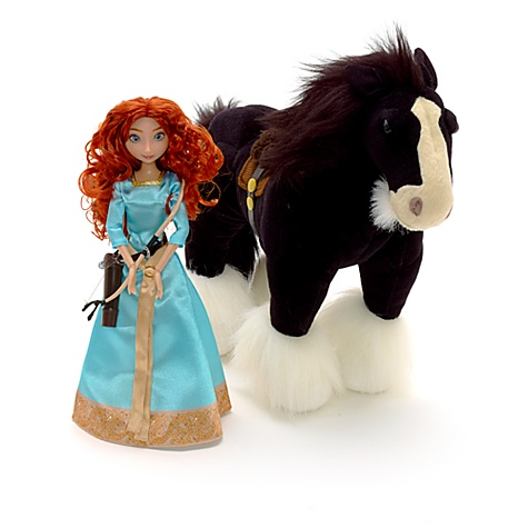 Brave Merida and Angus Set