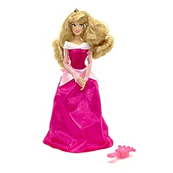 Sleeping Beauty Glitter Doll