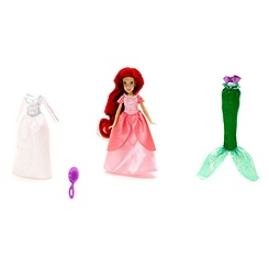 The Little Mermaid Mini Doll Set