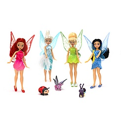 Fairies Mini Doll Set