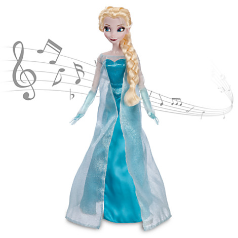 Elsa From Frozen Singing Doll