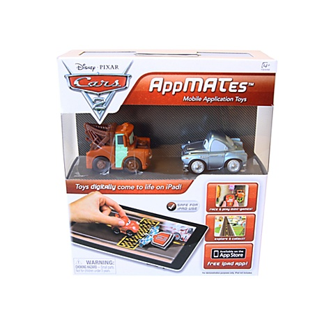 Disney Pixar Cars 2 AppMATes - Mater and Finn