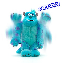 Sulley Scare Me Soft Toy