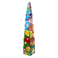 Mickey Mouse Stacking Blocks Puzzle