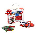 Cars 32 Piece Puzzle with Matching Pairs Game