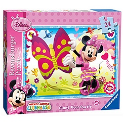 Minnie Mouse 24 Piece Floor Puzzle