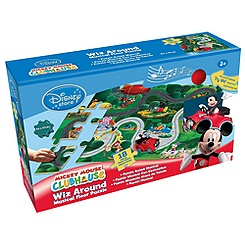 Mickey Mouse Clubhouse Wiz Around Musical Floor Puzzle