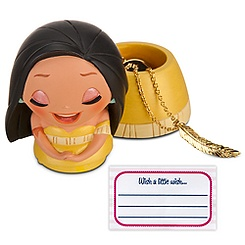 Kidada Wish-a-Little Pocahontas Figure with Charm Necklace - Online Exclusive