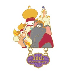 Aladdin 20th Anniversary Pin