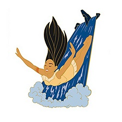Pocahontas Waterfall Pin - Online Exclusive
