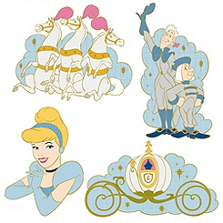 Cinderella Four Pin Set - Online Exclusive