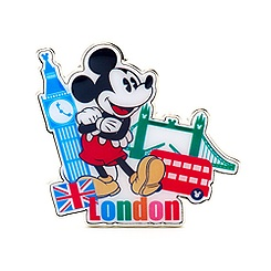 Mickey Mouse London Pin
