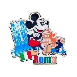 Mickey Mouse Rome Pin