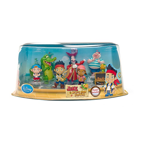 Jake and the Neverland Pirates Figure Set