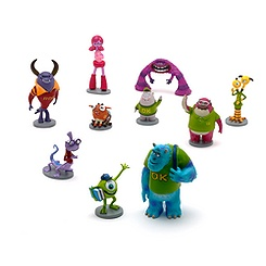 Monsters University Deluxe Figure Set