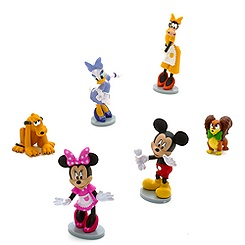 Minnie Mouse Pet Shop Figure Set