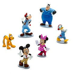 Mickey Mouse Car Wash Figure Set