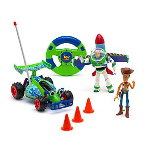 Toy Story Remote Control Toy Set with Buzz and Woody - Remote Control Gifts