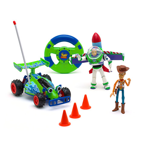 toy story remote control toy set with buzz and woody toy. Black Bedroom Furniture Sets. Home Design Ideas