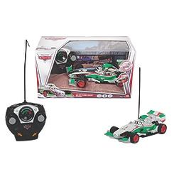 Disney Pixar Cars Remote Control Silver Francesco Bernoulli