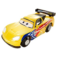 Disney Pixar Cars Jeff Gorvette Stunt Racer