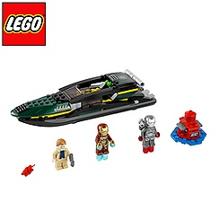 LEGO Iron Man Extremis Sea Port Battle Set