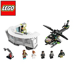 LEGO Iron Man Malibu Mansion Attack Set