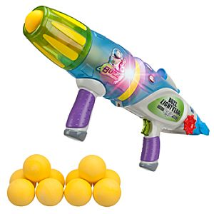 Toy Story Buzz Lightyear Glow-In-The-Dark Blaster - Buzz Lightyear Gifts